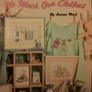 Leisure Arts 559 Cross Stitch Pattern This is the way WE WASH OUR CLOTHES