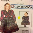 "Simpliicity 9359 Daisy Kingdom Pattern Child's Dress & Matching 18"" DOLL DRESS Child's Sizes 3 4 5 6"