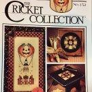 The Cricket Collection 152 Orange & Black Fall Halloween theme cross stitch pattern