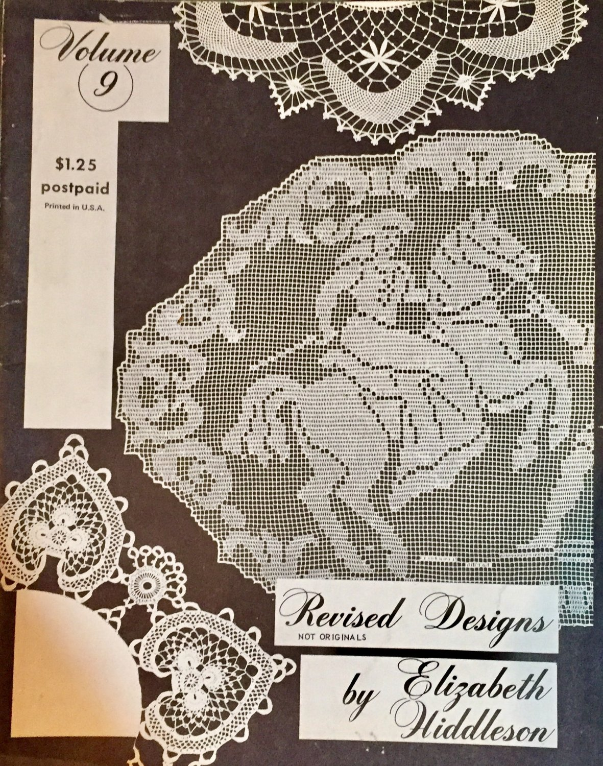 Elizabeth Hiddleson Crochet Patterns Vol.. 9 Revised designs