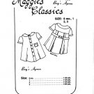 "Maggie's Classics Boy""s Apron Sewing Pattern 102 Size 2-3"