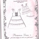 Miranda Smocked Dress Top Shorts Primrose Lane Sewing Pattern Sizes 2 - 8