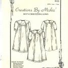 Creations by Michie Christening gown  Sewing Pattern #112 size 3 mos. to 12 Mos