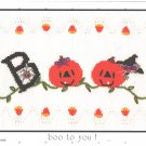 Boo to You Little Memories Smocking Plate Jack O Lanterns #127 Sewing Smocking design