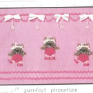 Purr-fect Pirouettes Little Memories Smocking Plate Kitties Cats #062 Sewing Smocking design