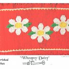 Whoopsy Daisy Cherished Stitches Smocking Plate Flowers Sewing Smocking design
