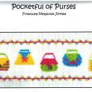 Pocketful of Purses Frances Messina Jones Smocking Plate Sewing Smocking design
