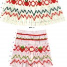 STRAWBERRIES Ellen McCarn Smocking  Easy Beginners Stacking Design #8206 Sewing Smocking design