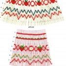 STRAWBERRIES Ellen McCarn Smocking  Easy Beginners Stacking Design #8206 Sewing Smocking design
