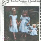 Toddler Pinafores & Pantalettes Love and Stitches 149 Debbie Glenn Sizes 2T - 5
