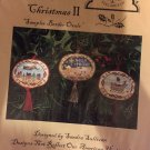The Homespun Elegance Sampler cross stitch chart Majestic Christmas II (Chart only)
