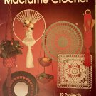 Macrame Crochet Leisure Arts Leaflet 223 12 Projects by Marion Graham
