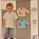 Burda 2634 Vintage Pattern Toddler Shirt or Blouse Size 18 mts, 2,3,4,5,6 UNCUT