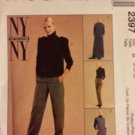 McCall's 2397, Top, Vest, Pants and Skirt. Sizes 8 10 12 Sewing Pattern