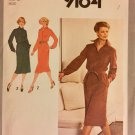 Sewing Pattern Simplicity 9164 Misses Dress & Tie Belt Pattern Size 16 uncut