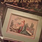 Leisure Arts 2415 Jesus in the Garden Cross Stitch Pattern Chart