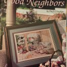 Leisure Arts 2735 Good Neighbors by Paula Vaughan book 58 Cross Stitch Pattern Chart