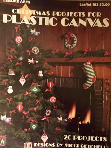 Plastic Canvas Christmas Projects  Leisure Arts 153 Christmas Stockings ornaments Wreath