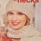 Leisure Arts 4975 Noggins and Necks hat scarf crochet patterns