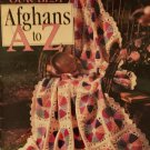 Our Best Afghans A to Z crochet patterns Leisure Arts 3014