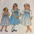 Childrens Corner CC013 Amy Smocked Jumper Dress Sewing Pattern Size 5 - 6