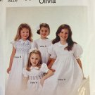 The Children's Corner Sewing Pattern with Smocking  200 Olivia Sizes 5-8