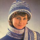 Annie's Attic 87H50 Ladies Hats Scarves Crochet Patterns