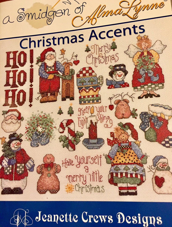 Alma Lynne Christmas Accents Cross Stitch chart pattern 22177