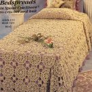 J P Coats Crochet booklet BEDSPREADS in Speed-Cro Sheen to crochet and knit Leisure Arts 118241