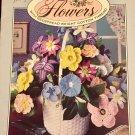 Crocheted Flower Patterns Leisure Arts 2293 Thread Crochet