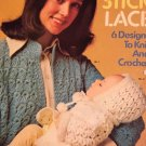 Broomstick Lace Crochet Pattern Columbia Minerva 2569   retro 1970's
