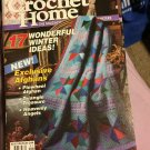 Crochet Home Magazine number 32 December January 1993 Pinwheel Afghan Angels