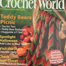 Crochet World August 2008 Teddy Bears Picnic Doily Backpack Afghan