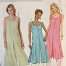 Butterick B4523 Misses Petite Tunic Skirt and Pants Size XS S Med Uncut Sewing Pattern