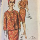 Butterick 3550 Pattern 1960s Dress & Jacket Suit vintage Size 16 Bust 36  UNCUT