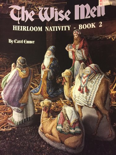 Leisure Arts  2344 The Wise Men Heirloom Nativity Cross Stitch Pattern