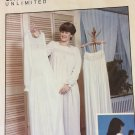 Lady's Ruffled Nightgown Sewing Pattern  Smocking Unlimited  Sizes 6 - 20