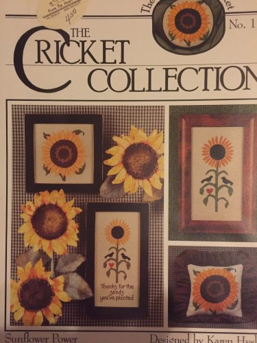 The Cricket Collection No. 118  Sunflower Power Cross Stitch Pattern