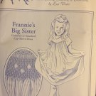 Frannie's Big Sister Gathered or Smocked Cap-sleeved Dress pattern Especially for You Size 5-8