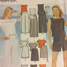 Simplicity 5165 Easy sew tops shorts slacks and skirts summer wardrobe sizes 4 to 10 sewing pattern