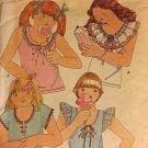 Butterick 5941 Girls' Top Size 10 Uncut