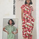 "1970s Women's Shirtdress, Dress Pattern - Size 16, Bust 38"" - Simplicity 7924"