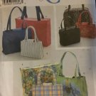 Simplicity 8331 Totes Purses Lunch Bags in Various Sizes