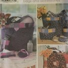 Simplicity 5606 Hand Bags and Accessories Fat Quarter Club Shirley Botsford Designs