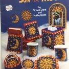American School of Needlework 3150 Sun and Moon Plastic Canvas Pattern