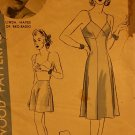 Vintage Hollywood Pattern 668 for Slip and Panty Linda Hayes size 14 bust 32