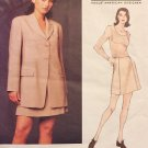 Vogue 1489 American Designer Michael Kors Suit Jacket Skirt sewing pattern size 6  8 10