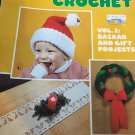 Christmas Crochet Vol. 2 Bazaar and gift projects American School of needlework Booklet 8