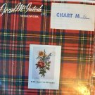 Jean McIntosh ltd. Needlework Chart 40 Small Floral Arrangement Spray Cross Stitch