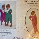 Angel Wears Sewing Pattern Girls Jumpsuit Wardrobe  2-6